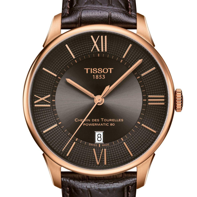 TISSOT</br/>Tissot Chemin des Tourelles Powermatic 80</br/>T0994073644800