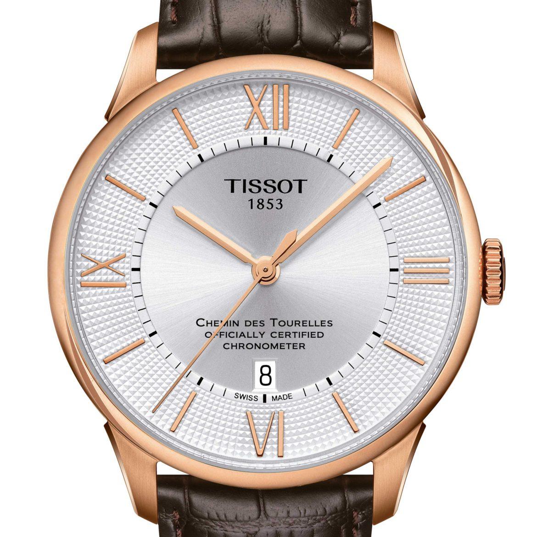 TISSOT</br/>Tissot Chemin des Tourelles Powermatic 80 COSC</br/>T0994083603800