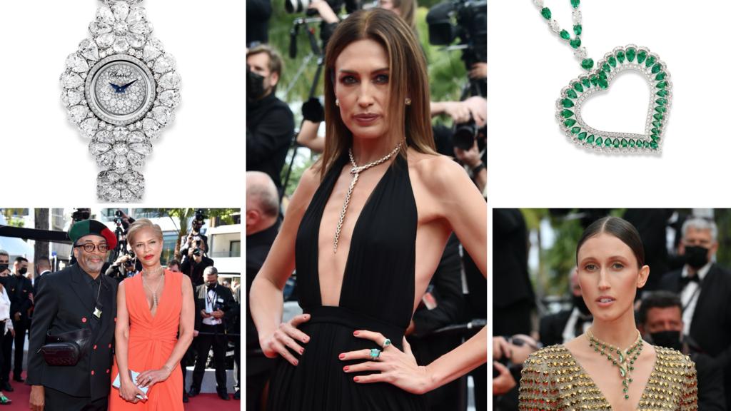 Cannes 2021 alfombra roja joyería