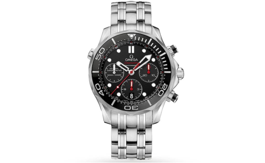 Omega Seamaster Diver 300m Co‑Axial Chronometer Chronograph