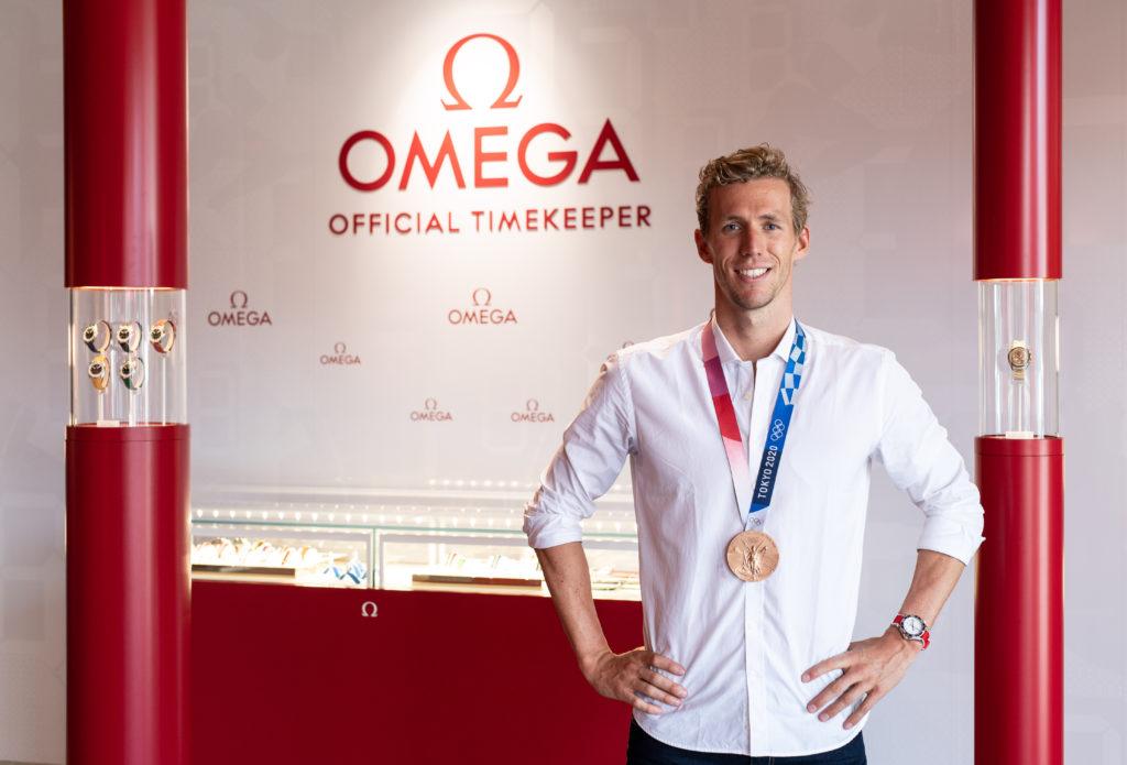 Omega embajador natación 3