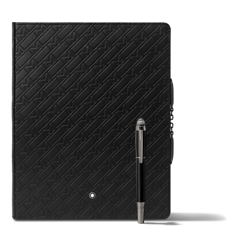 Montblanc Ultra Black Augmented Paper