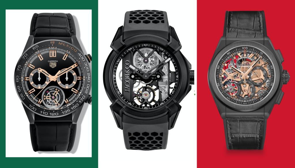 Relojes inspirados en México