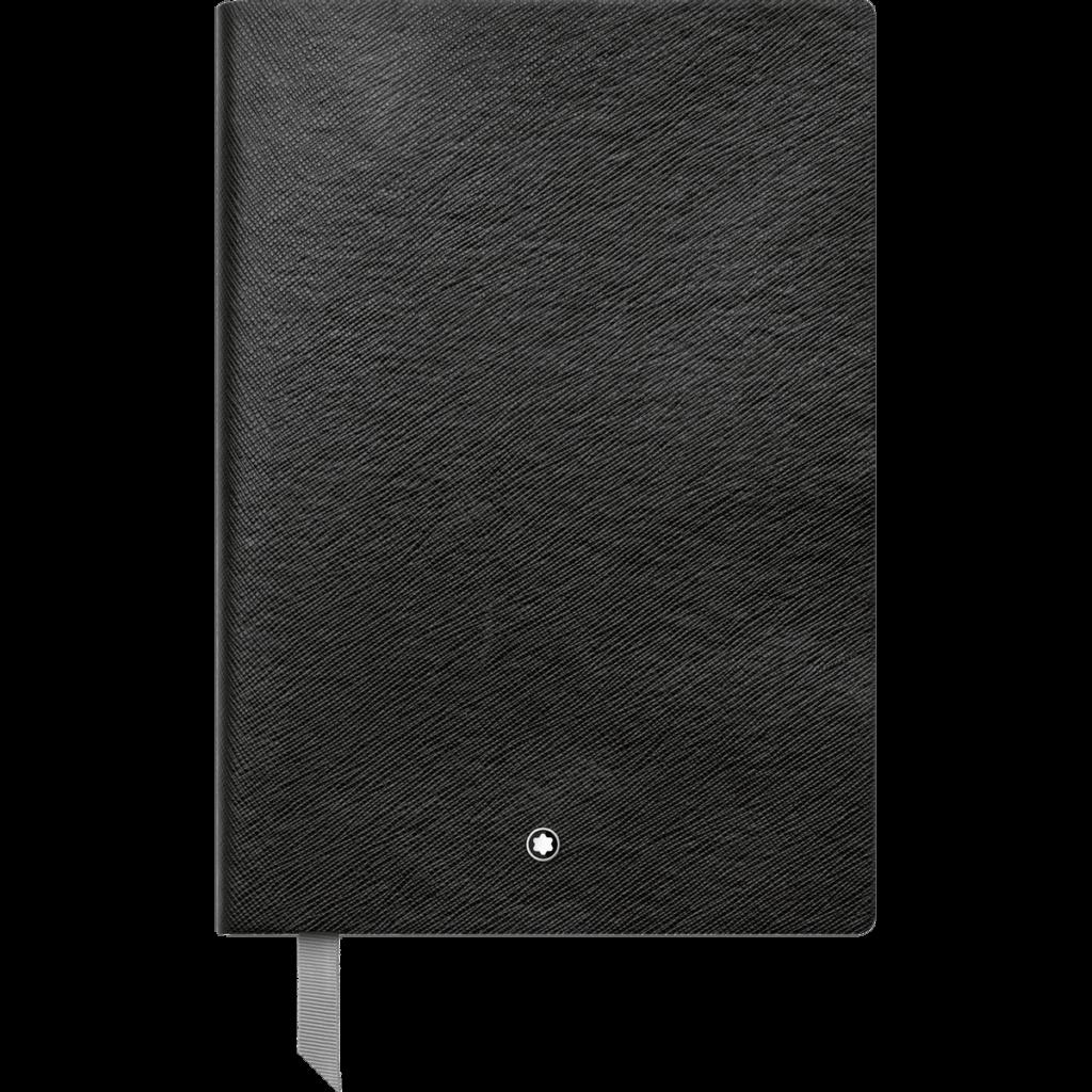 Cuaderno Montblanc Fine Stationery #146 negro con líneas
