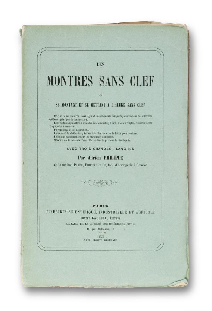 FOTO 4-1844 JA Philippe - Keyless winding