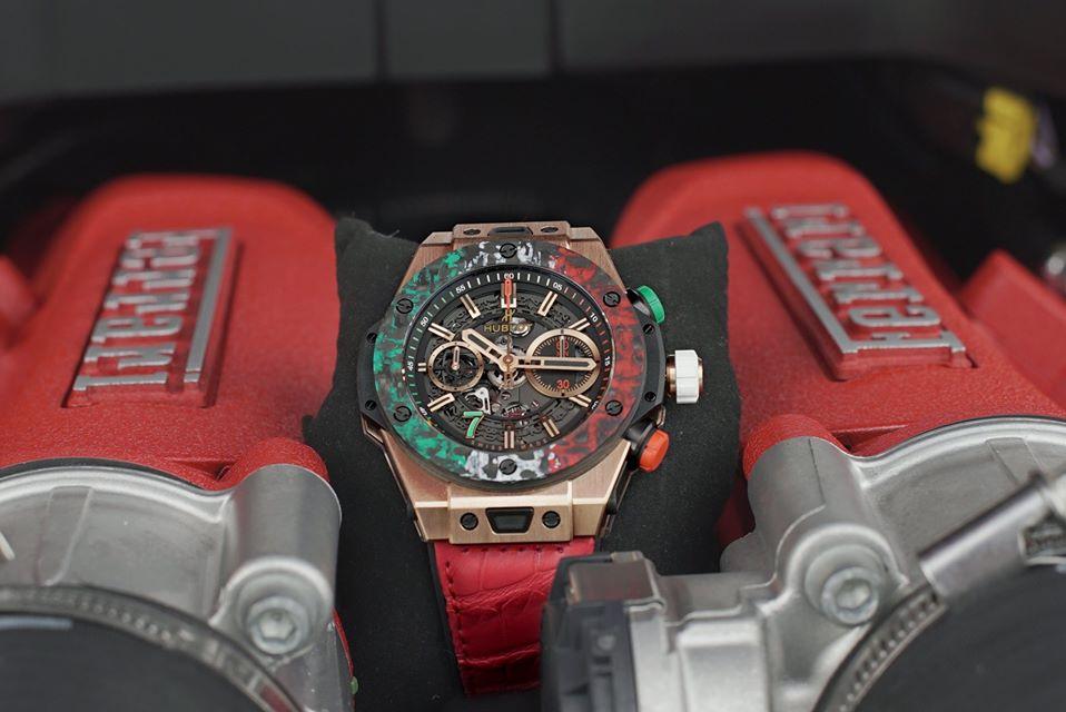 Relojes y autos, piezas que fusionan lo mejor de los dos mundos